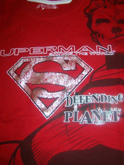Superman Druck