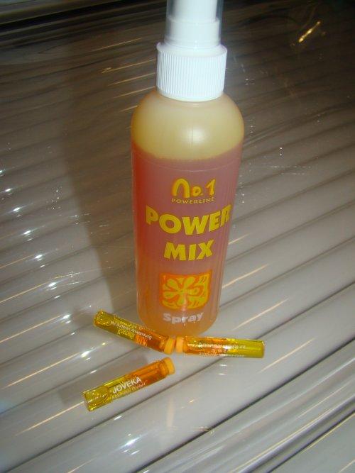 Powermix Spray und Ampullen