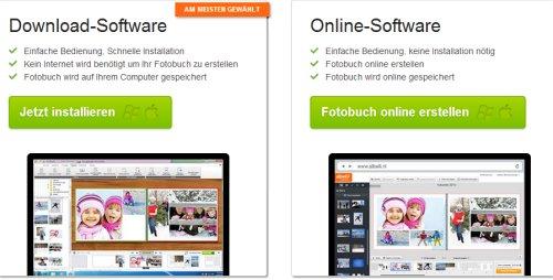 Auswahl der Software
