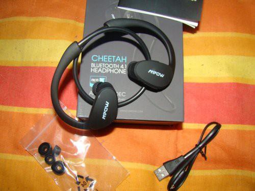 Schweißfänger Sport Stereo Kopfhörer mit AptX Technologie