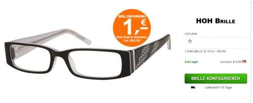 Hoh Brille meine Auswahl