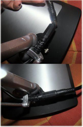 Stromkabelverbindung