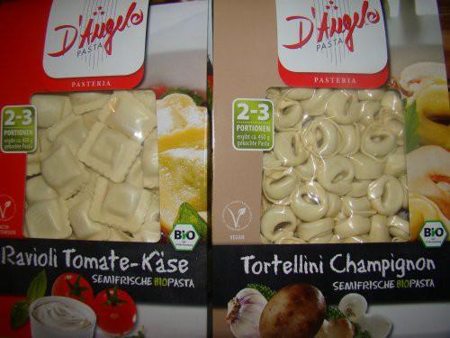Tortellini Tomate Käse und Champions