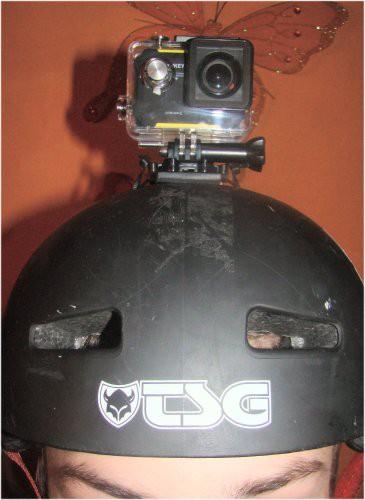 Kamerabefestigung am Helm