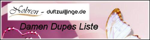 Logo Dupes Liste